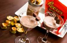 Candy-Infused Cocktails - The Peanut Butter Cup Martini is an Intoxicating, Nutty Treat