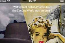 Wistful Wartime Apps - 'IWM's Great British Posters from WW2' for Apple is Nostalgic