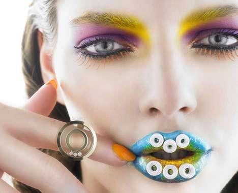 48 Eccentric Lipstick Applications