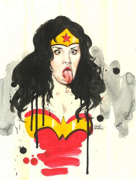 Juvenile Justice League Heroines