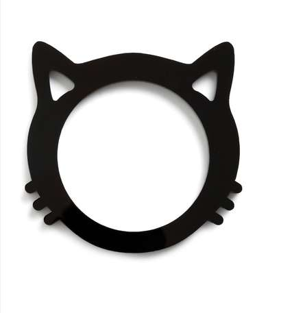 The Cat Get Enough Bracelet is Chic and Glossy