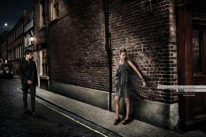 Brick-Blending Woman Ads