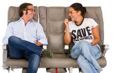 Social Flight Pairings - The airBaltic Seatbuddy is the World's First Airline Social Seating System