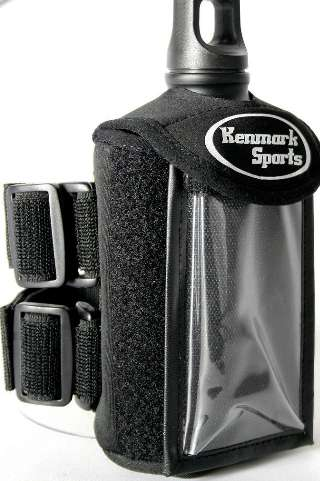 The Kenmark Armband Water Bottle is Ideal for On-The-Go Storage
