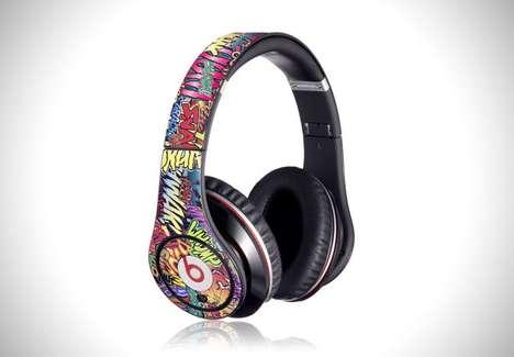 Graphic Headphone Decals