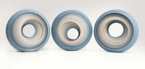 Dizzying Ceramic Sculptures