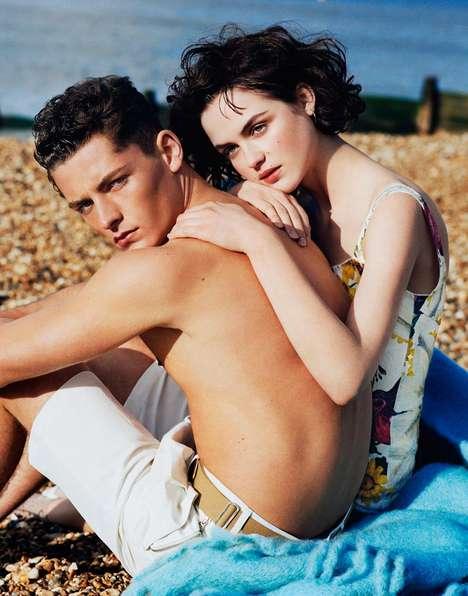 Seaside Lovebird Editorials