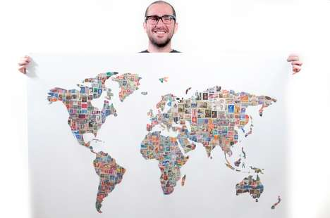 Stamp-Clad Maps