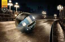 Spherical Car Ads - The Goodyear Campaign Shows That Not Using Their Tires is Dangerous