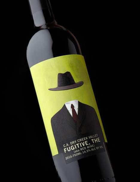 Absent Mascot Vino Branding