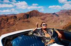 Desert Rock'n'Roll Photoshoots - The S Moda 'Elvis Nunca Murio' Editorial Stars Suzanne Emanuelsson