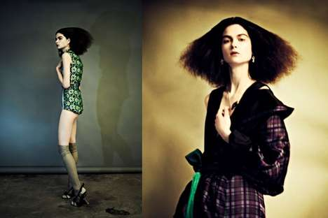 Haunting LadyLike Editorials