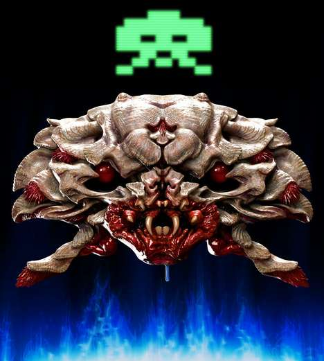 Space Invaders by Tom Carruthers is More Horrifying Than the Original