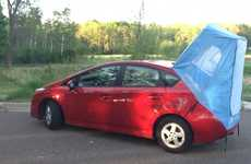 Tiny Vehicle Tents - Prius Habitents Turn Compact Vehicles into Comfortable Sleeping Quarters
