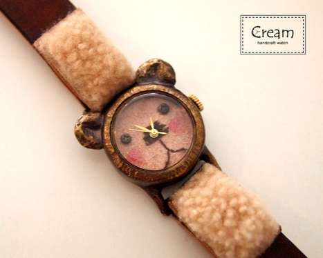 The 'Metal et Linnen' Handcrafted Watches are Unique