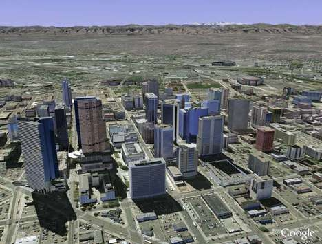 3D-Infused Maps - Google Earth 3D for Mobile Gives Users a Full Topography View