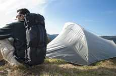 Habitable Knapsacks - The Kando Backpack Has Room for Supplies and a Tent