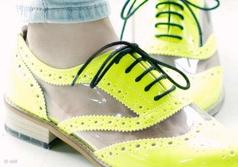 Highlighter-Hued Kicks
