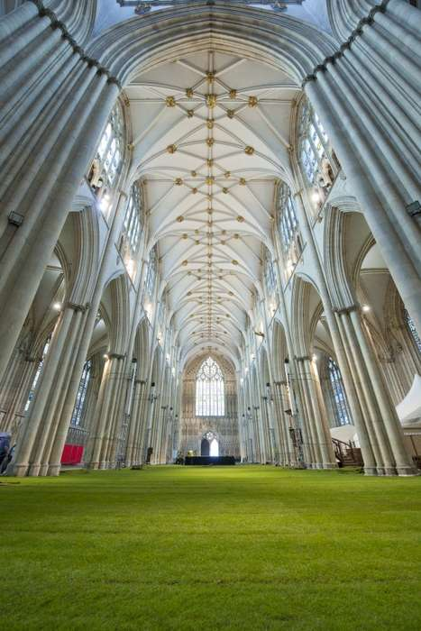 The Wow!grass! Living Carpet Graces the York Minster Cathedral