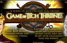 Cult TV Comics - The 'Game of Tech Thrones' Cartoon Gives Hilarious Personalities
