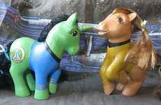 Galactic Girly Toys - These 'My Little Star Trek Ponies' are an Unlikely Remix