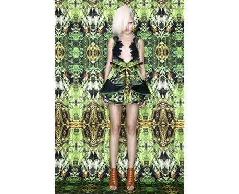 73 Pieces of Haute Camouflaged Couture