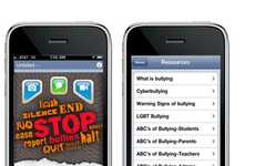 Schoolyard Violence-Haulting Apps - Stop Bullies Uses GPS to Alert Authorities of an Assault