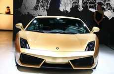Glamorously Golden Cars - The Lamborghini Gallardo LP560-4 Gold Edition Recently Unveiled