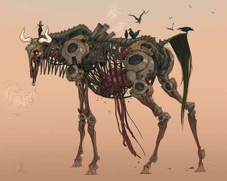 Mechanical Wildlife Artistry