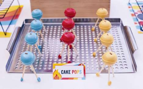 Cake Pop BBQ Grills are the Perfect Treat for Dad on Father's Day