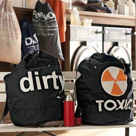 Honest Laundry Bag Inscriptions