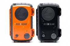 Submersible Sound Systems - The Ecoxpro Waterproof Speaker Case Plays Music Underwater