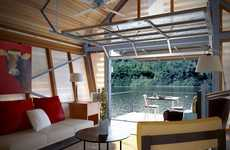 Multi-Purpose Outdoor Homes - Broadhurst Architects Inc.'s 'The Crib' is Versatile