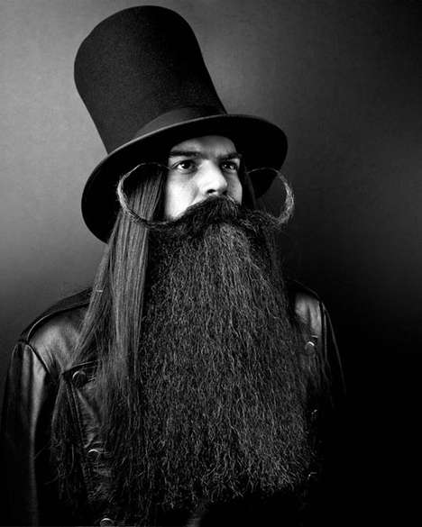 Philanthropic Beard Portrayals