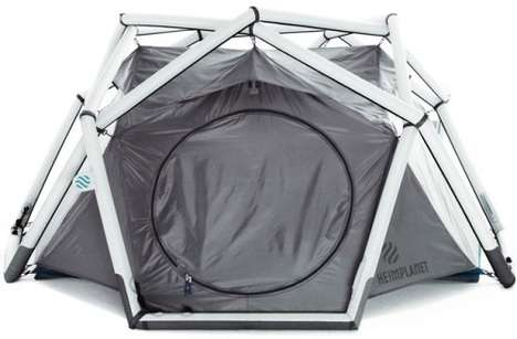 Inflatable Frame Tents