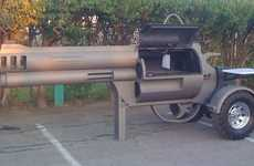 Pistol-Inspired Barbecues