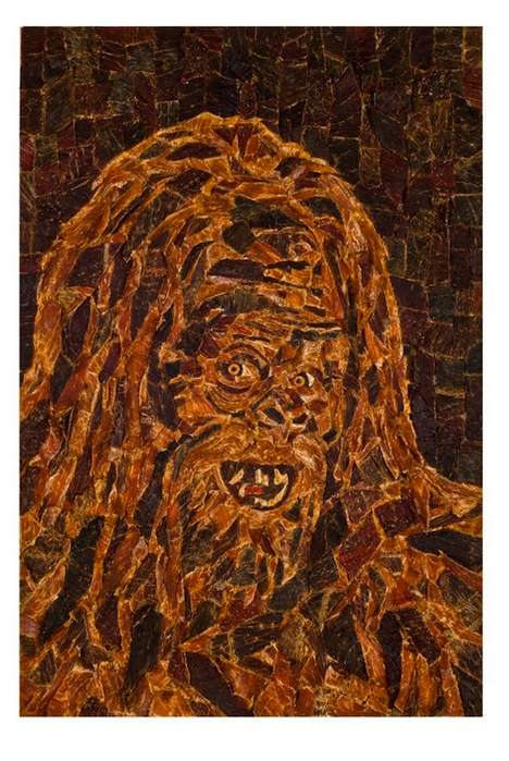 Beef Jerky Sasquatch Mosaics