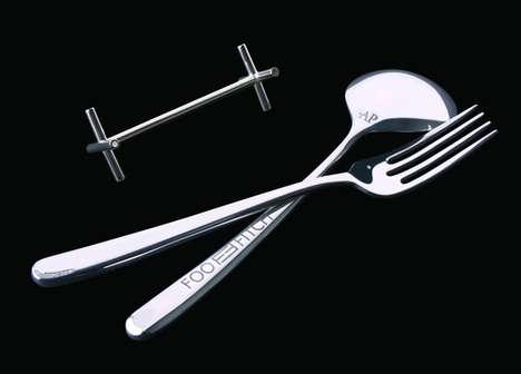 Diamond-Studded Dinnerware