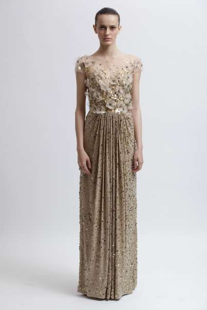 Clean-Cut Couture Gowns