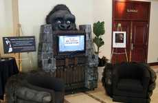 Giant Gorilla Entertainment Centers - The King Kong Home Theater is for Horror Film Fans