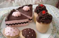 Felt Toy Confections - The Fakery Bakery Makes Plush Mouth-Watering Desserts