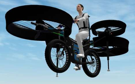 Aerial Two-Wheelers