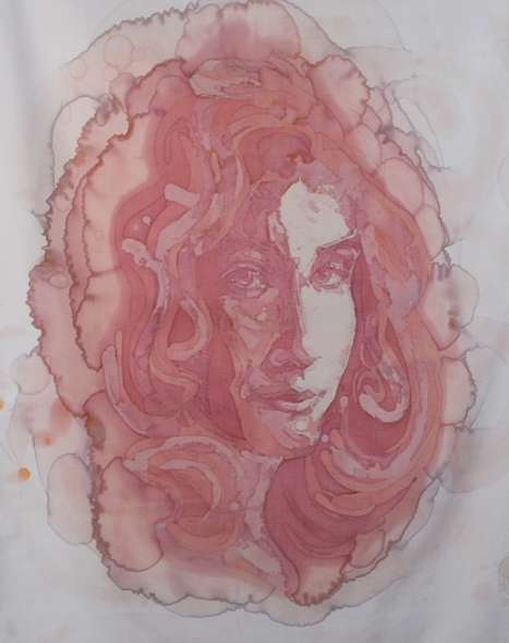 Wine Stain Portraits