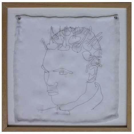 Hair Embroidery Portraiture