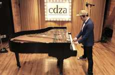 Group-Created Sound Videos - The cdza 'Pianists in Paris' Production Is Musically Brilliant