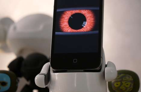 Skin-Changing Smartphone Stands