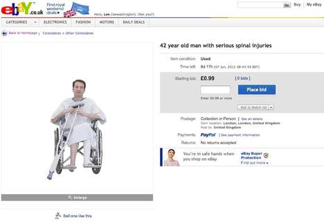 Unusual Legal Campaigns - The 'Injury Auction' Aims to Demonstrate the Injustices in Insurance