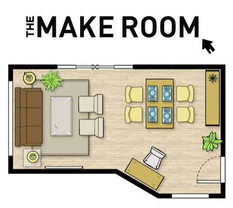 Online Room Planners - Urban Barn's 'The Make Room' Lets You Control Your Space