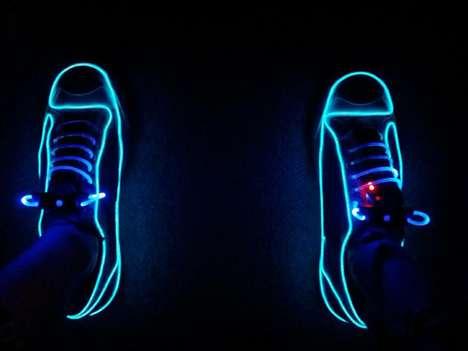 Glowing Electric Sneakers