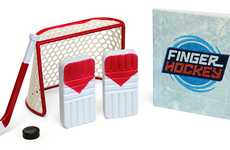 Miniature Office Sports - The Finger Hockey Game Brings the Rink to Your Work